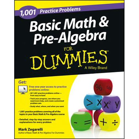 Halloween Online Math Games/kindergarten (Basic Math and Pre-Algebra : 1,001 Practice Problems for Dummies (+ Free Online)