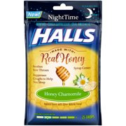 Halls, Chamomile Cough Drops, 25 Pcs