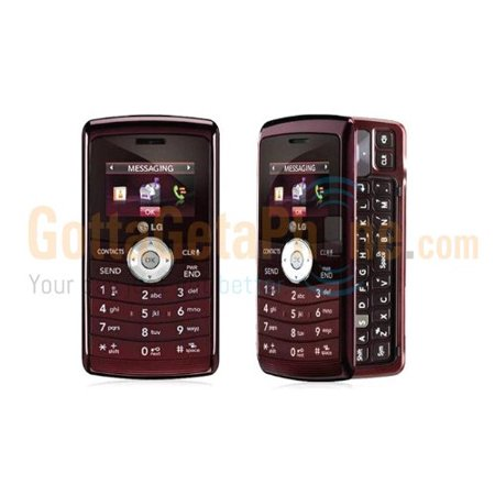 LG enV3 VX9200 Verizon Cell Phone - No Contract - (Maroon) Red - QWERTY Manufacturer (Best Verizon Qwerty Phone)