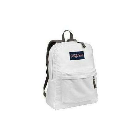cheaper 3fb1f e5186 JanSport - Classic SuperBreak Backpack, White - Walmart.com
