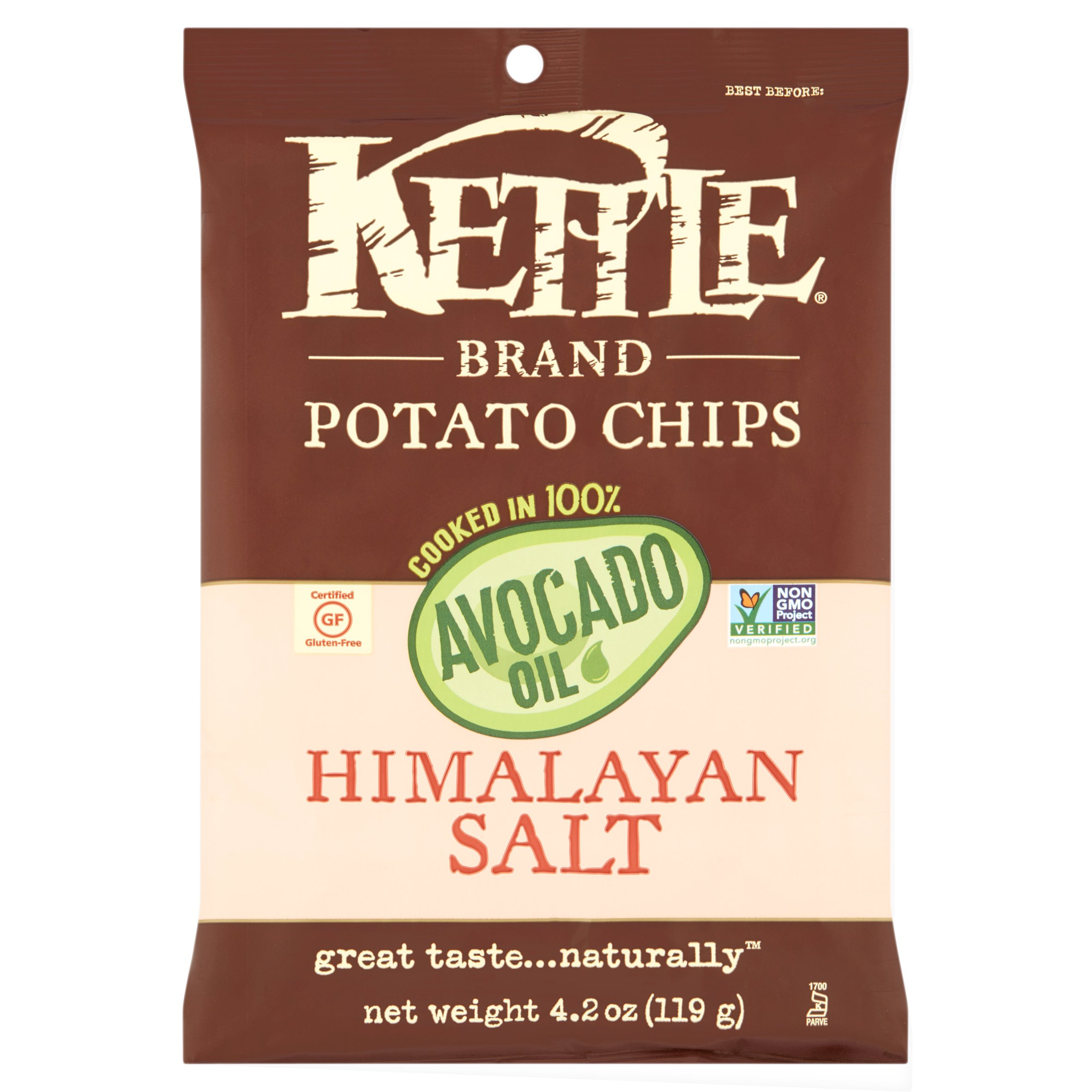 Kettle Foods Chip Potato Hmlyn Slt Org,4.2 Oz (Pack Of 15)