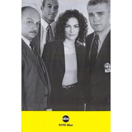 NYPD Blue Movie Poster (11 x - Nypd Decorations