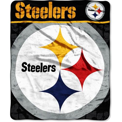 "NFL Pittsburgh Steelers 50"" x 60"" Throw"