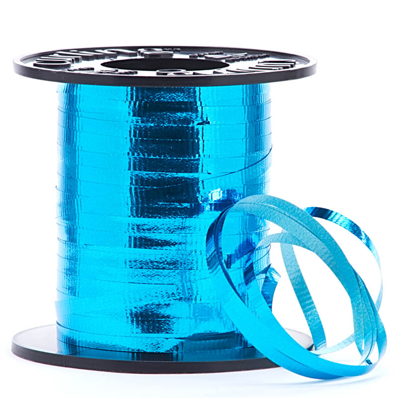 """3/16"""" X 219yd Lime Holographic Curling Ribbon  by Paper Mart"""