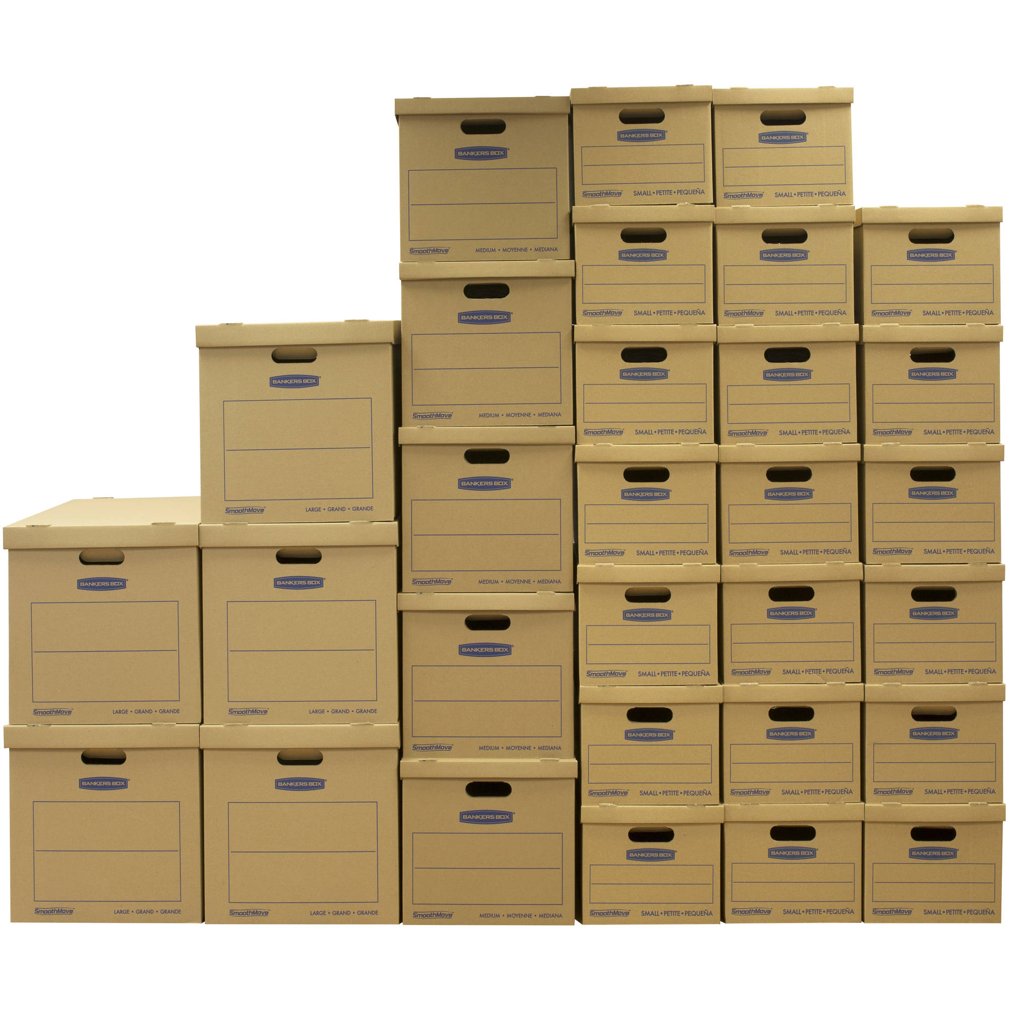 Bankers Box SmoothMove Classic Moving Box Value 30-Pack