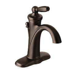 Moen 6600ORB Rubbed Bronze one-handle bathroom faucet