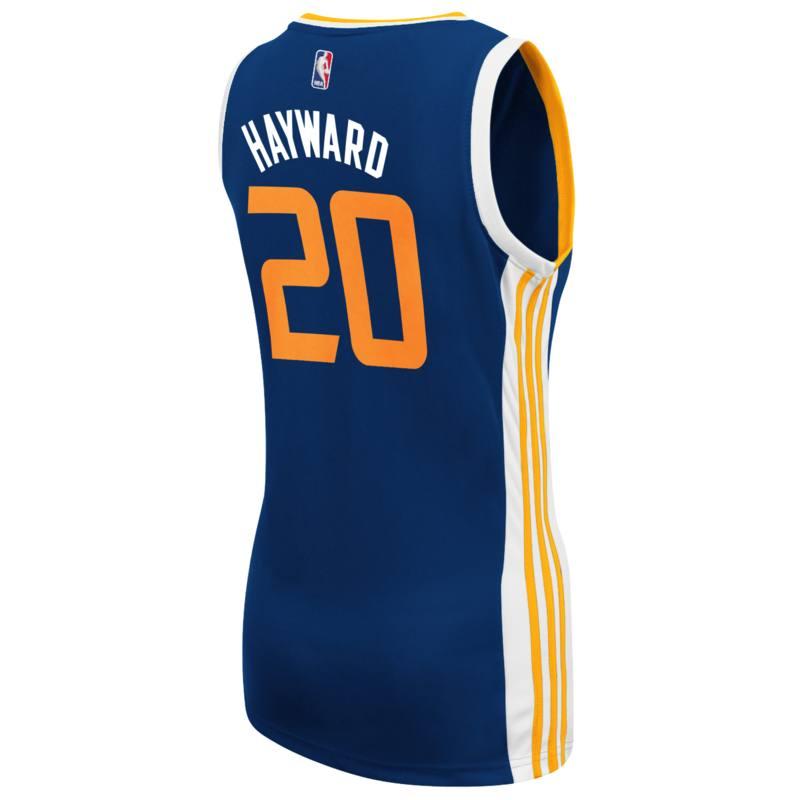 Gordon Hayward Utah Jazz Adidas Womens Replica Jersey (Navy)