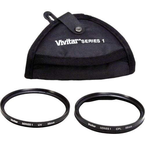 Vivitar 58mm Multi-Coated Filter Kit