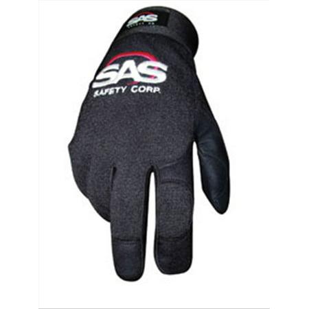 MX Pro-Tool Mechanics Safety Gloves, Black, Large SAS Safety 6653 SAS LP