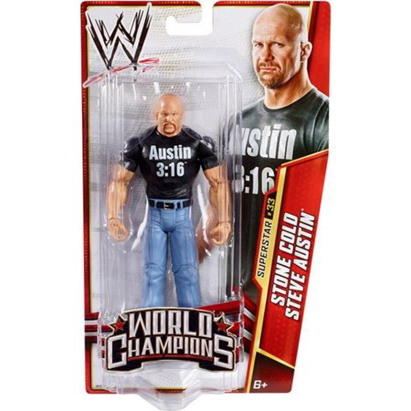 WWE Wrestling Series 29 Stone Cold Steve Austin Action Figure ()