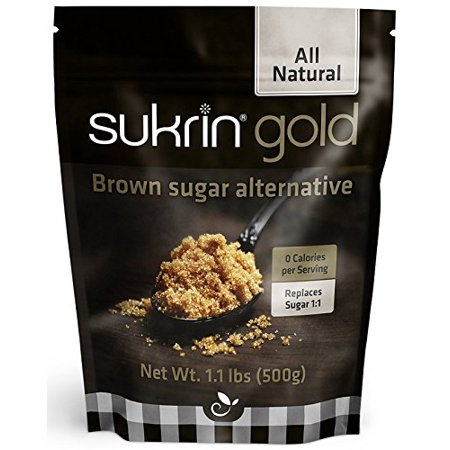 Sukrin Gold - The Natural Brown Sugar Alternative - 1.1 lb Bag 5 Lb Bag Sugar