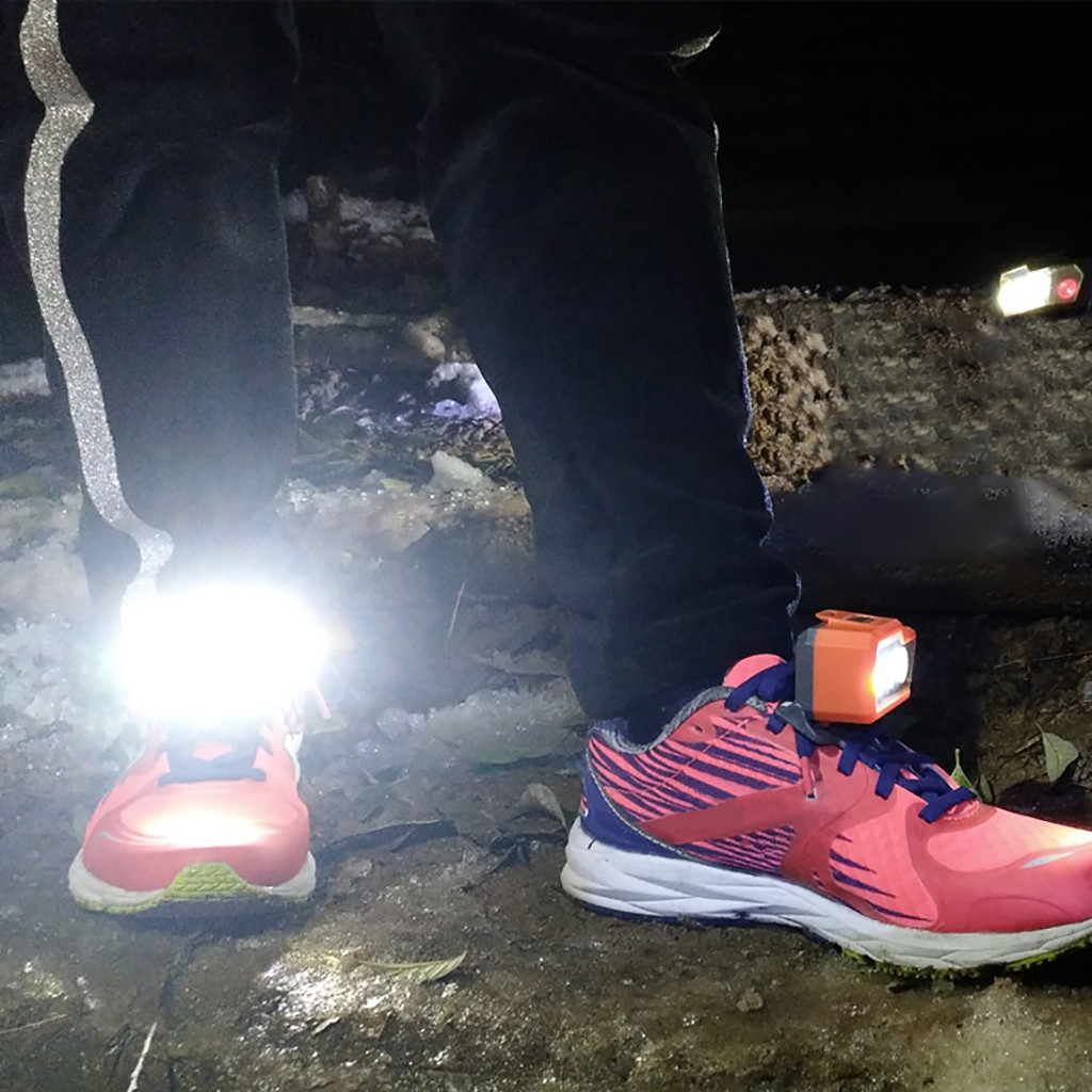 LED Shoe Lights With 3 White Light For