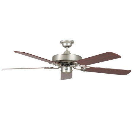CONCORD BY LUMINANCE  52 INCH CALIFORNIA HOME COLLECTION FAN - SATIN NICKEL (Satin Brass Historic Collection)