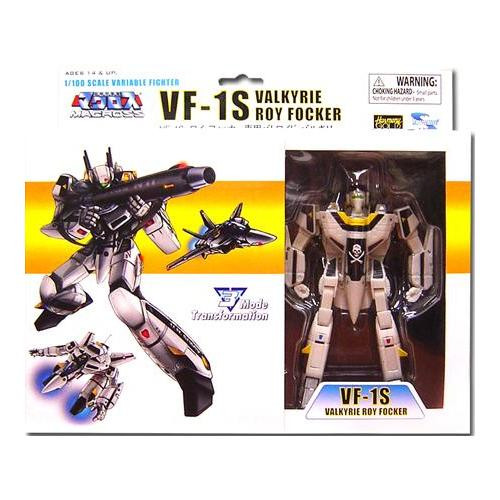 Robotech Transformable Veritech Fighter Roy Focker's VF-1S Action Figure