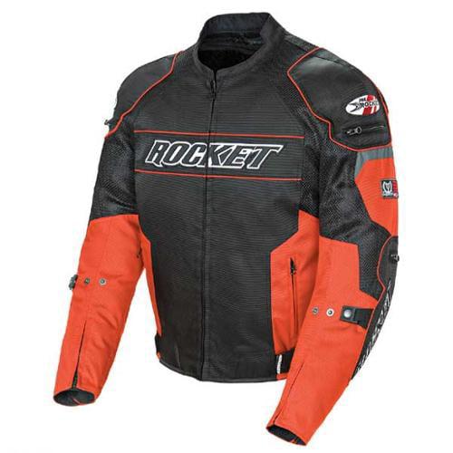 Joe Rocket Resistor 2014 Mesh Jacket Orange/Black MD