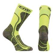 Northwave, Husky Ceramic Tech High Sock Green Fluo./Black SM