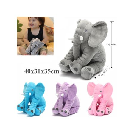 Stuffed Animal Pillow Long Nose Elephant Soft Plush Doll For Baby Kids Sleeping Toys Birthday Gifts - Elephant Soft Pillow