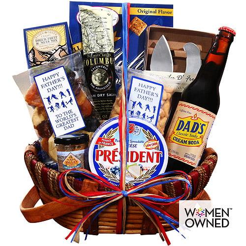 Alder Creek World's Greatest Dad Father's Day Gift Basket