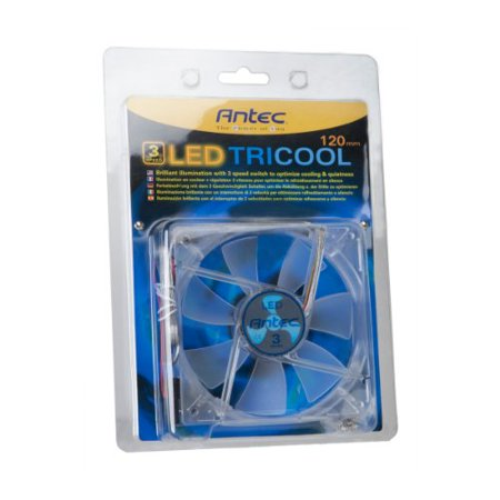 Antec TriCool case Fan (TRICOOL120MM BLUELED) - image 2 of 3