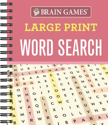 picture about Large Printable Word Search named Mind Game titles Huge Print Term Appear