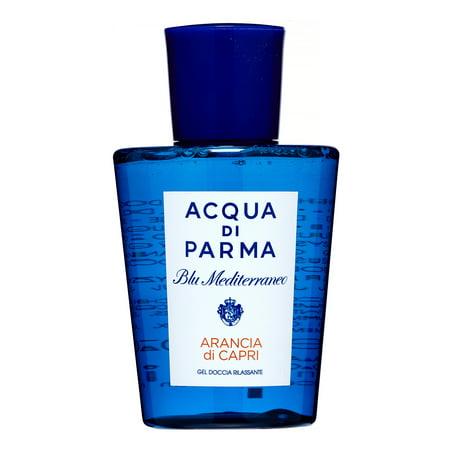 Acqua Di Parma Blue Mediterraneo Arancia di Capri Body Wash Shower Gel, 6.7 Oz