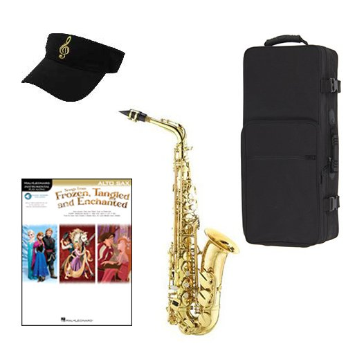 Frozen Tangeled Enchanted Alto Saxophone Pack Includes Alto Sax w Case & Accessories,... by Band Directors Choice