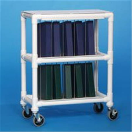 NOTEBOOK CHART RACK - HOLDS 10 RING BINDERS (Notebook Chart Rack)