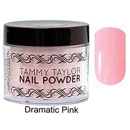 Tammy Taylor Nail Original Powder - 1.5oz (DRAMATIC PINK - DP) (Tammy Taylor Original Liquid)