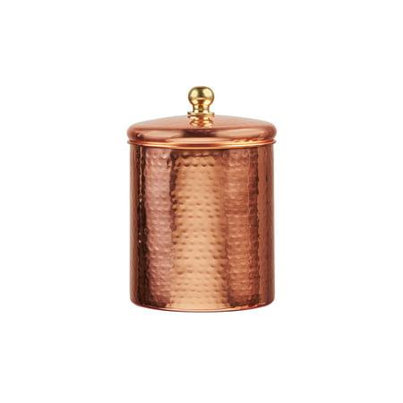 Alexandria Copper Storage Canister, Medium, 38 oz