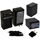 Progo 2 High Capacity Rechargeable Li_Ion Battery and Charger Kit for Sony NP_FV100. Fits Sony DCR_SR15, SR21, SR68, SR88, SX15,