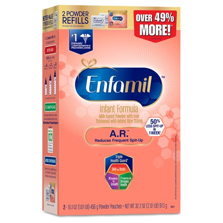 Enfamil A.R. Infant Formula for Spit-Up - Powder, 32.2 oz Refill Box