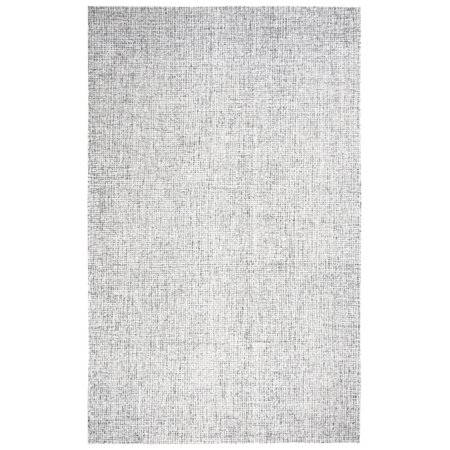 Rizzy Home Brindleton Br351A Gray / Ivory Area Rug 9 Feet x 12 Feet (Area Rugs 15 By 12)