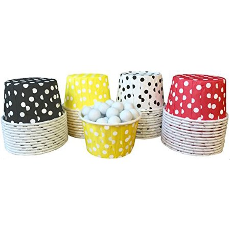 Mickey Mouse Theme Polka Dot Candy/Nut Cups  48 Pack