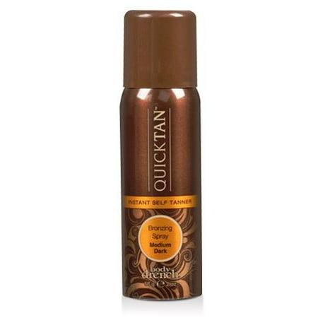 - Body Drench Quick Tan Tanning Mist Sunless Tanner - Med Dark - 2 oz