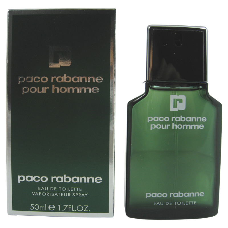 Paco Rabanne Eau De Toilette Spray 1.7 Oz / 50 Ml