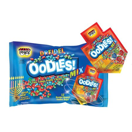 Zion Judaica Chanukah Soft Candy Oodles