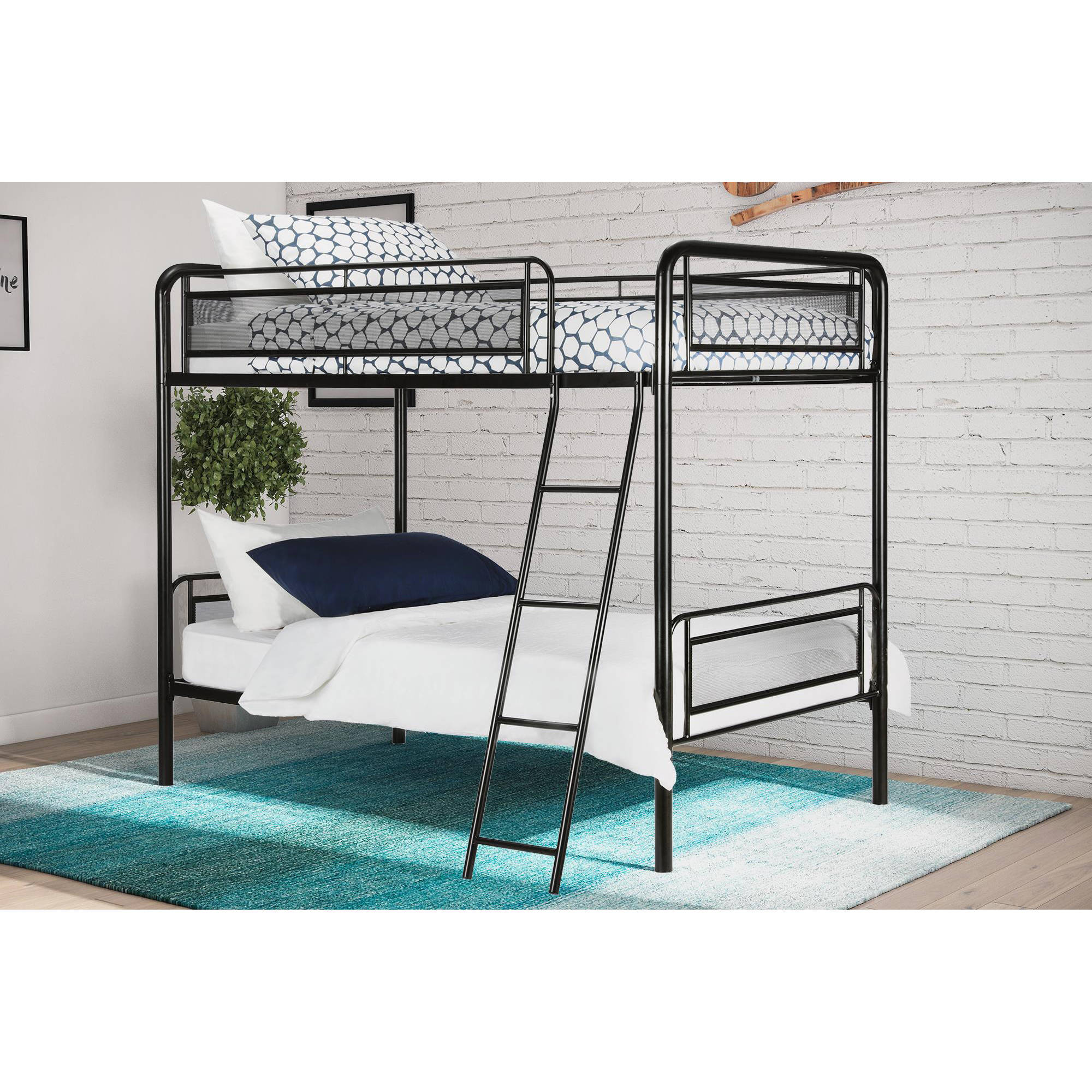 Dorel DHP Rockstar Twin Over Twin Metal Bunk Bed, Multiple Colors by Dorel Home Products