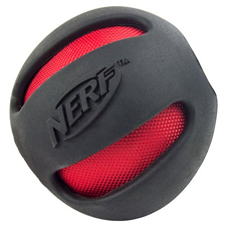 Crinkle Buckle - Nerf Dog Toy Crinkle Balls, Black