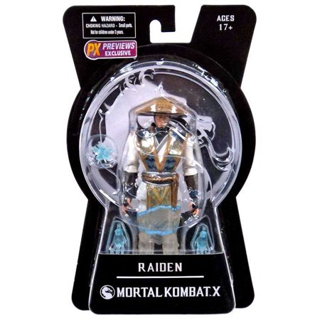 Mortal Kombat X Series 1 Raiden Exclusive 6 Action Figure [Displacer - Mortal Kombat Raiden