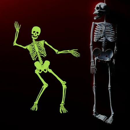 60x90cm Luminous Skeleton Skeleton Halloween Haunted House Bar Corner Tidy Decor](Hamlin Corner Halloween)