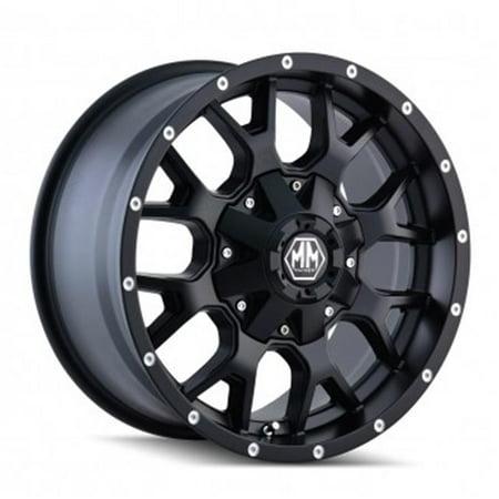 Mayhem 8015-2137MB 6-139.7, 6-135 PCD Warrior Matte Black Wheel - image 1 of 1
