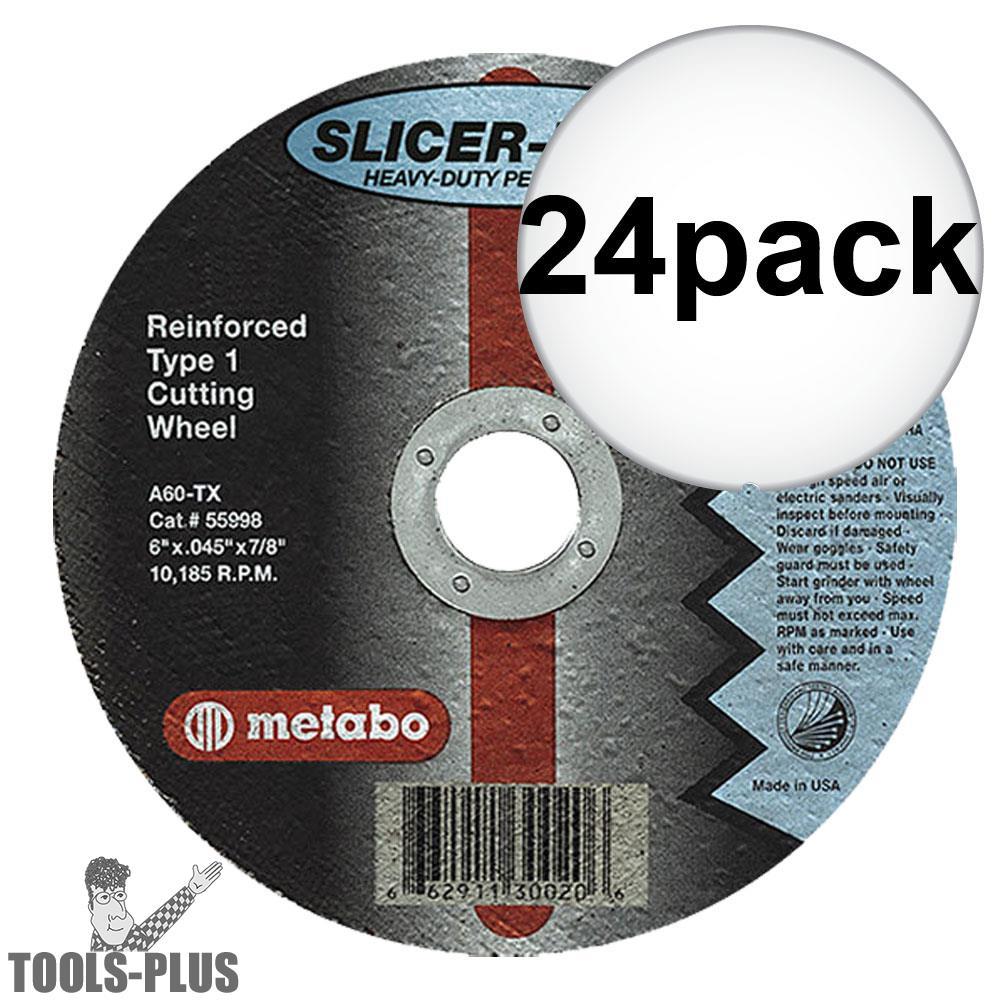 "Metabo 55993 5x045x7/8"" Slicer Plus 24-Pack"