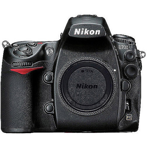 "Nikon D700 Black 12MP Digital SLR (Body Only) Camera with 3"" LiveView LCD Display, FX-format CMOS sensor"