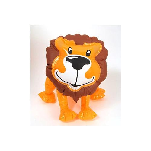 "Zoo Animal Inflatable Lion - 24"""