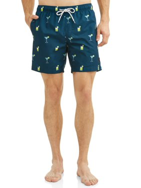 2f454771ceb Product Image Hot Coals Men's Conversational Printed Swim Shorts