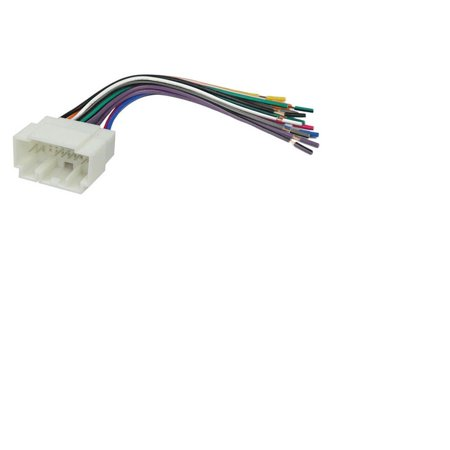 honda accord 1998 - 2002 car stereo wiring harness, ***please refer to  section below to cross reference your vehicle's model and year *** by  accex