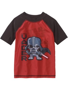 Star Wars Short Sleeve Swimwear Rashguard Top (Toddler Boys)