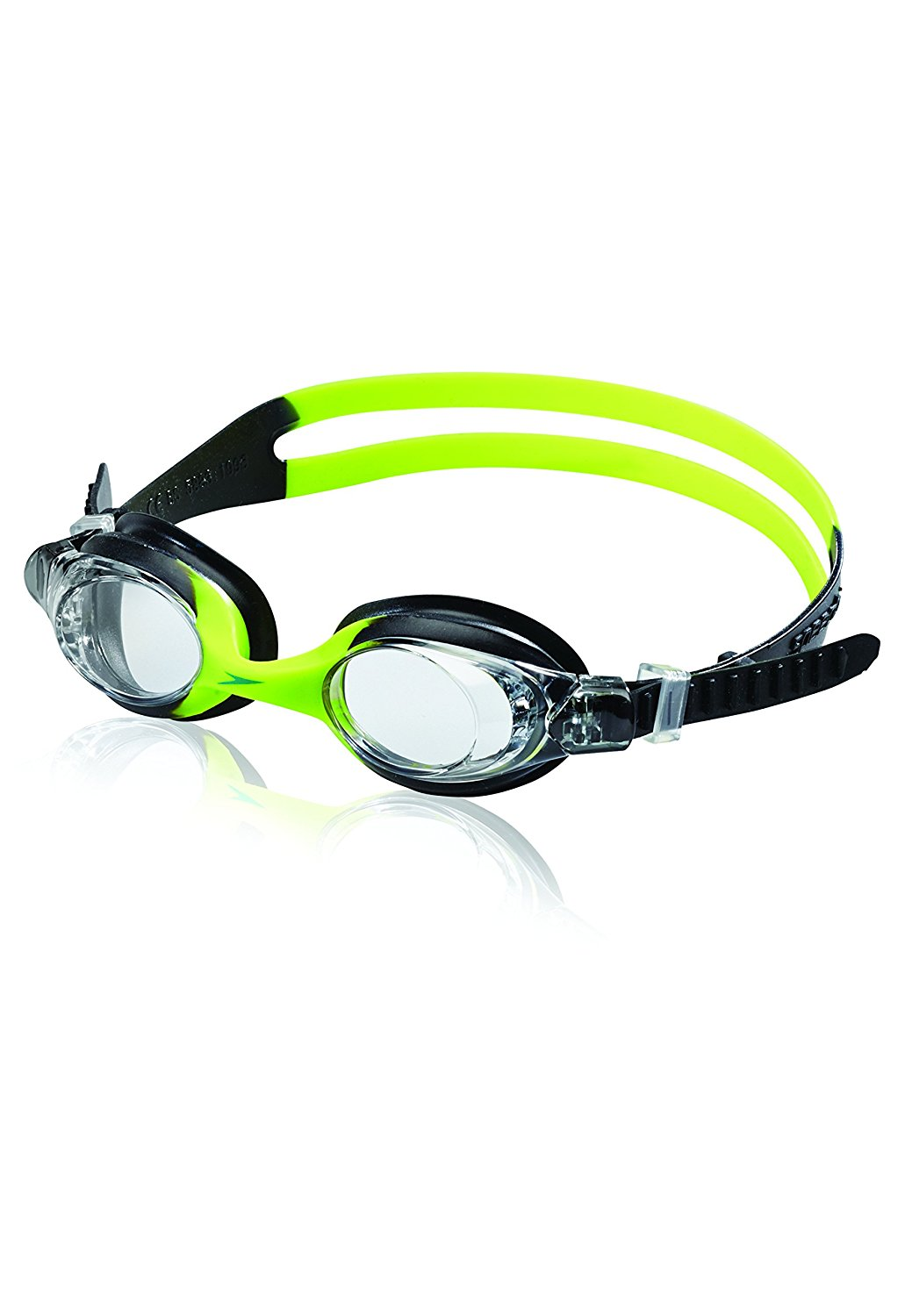 Speedo Kids Skoogles Goggle Kids Recreational Swim Goggle Black   Green by Speedo