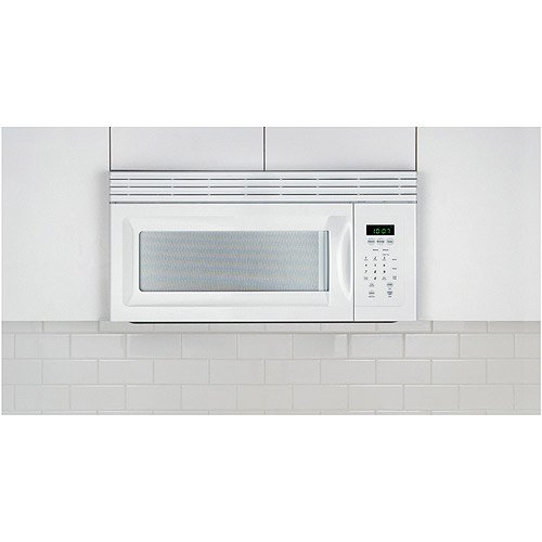 Frigidaire 30 1 5 Cu Ft 900w Over The Range Microwave Oven White