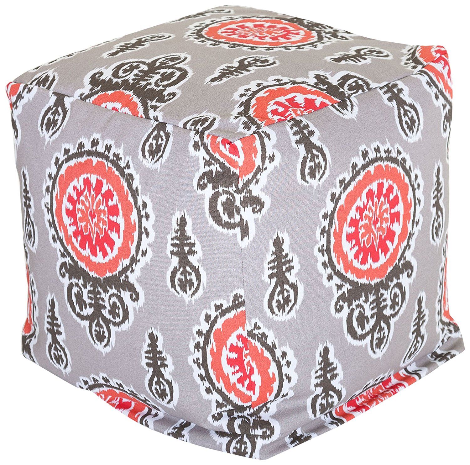 Majestic Home Goods Michelle Cube, Small, Salmon
